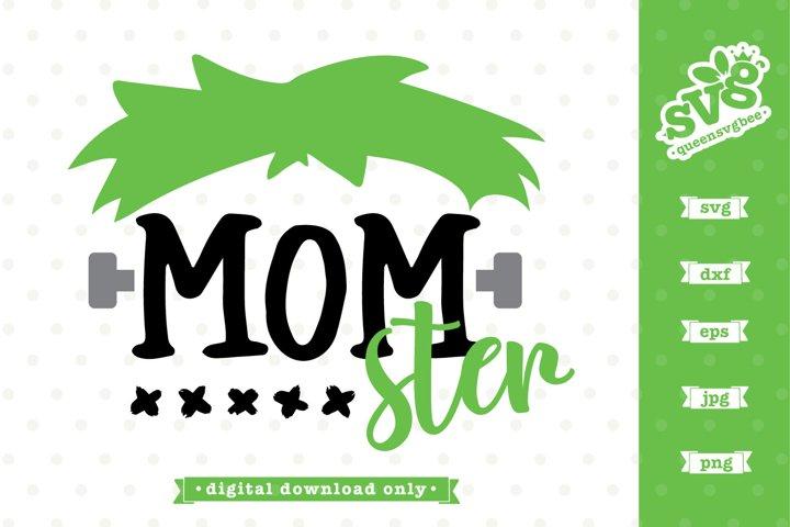 Halloween SVG file | Momster SVG design