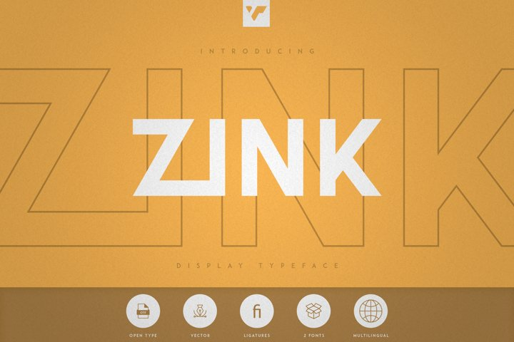 Zink - Display Typeface