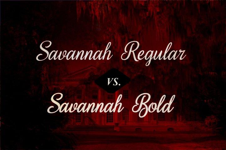 Sweet Home Savannah Font Duo - Free Font of The Week Design3