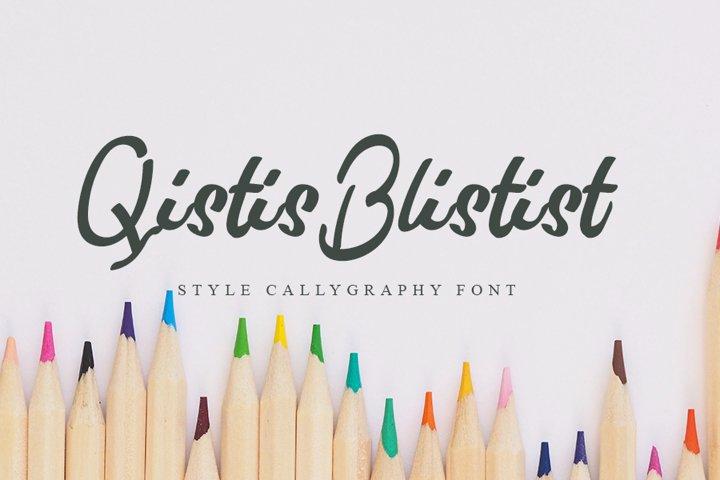 Qistis Blistist | Unique Handwritten