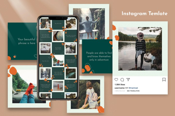 World - Instagram Template