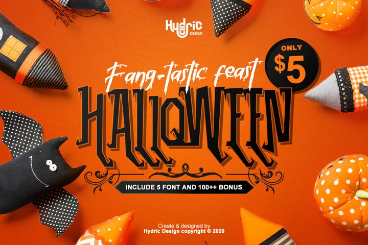 Fang-Tastic Feast Halloween Mini Bundles