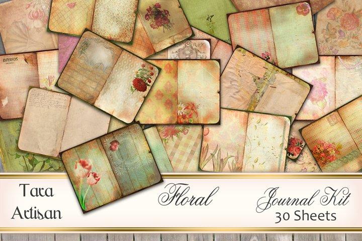 Floral - Journal Kit
