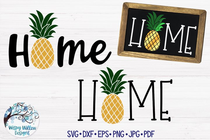 Home Pineapple SVG Cut Files