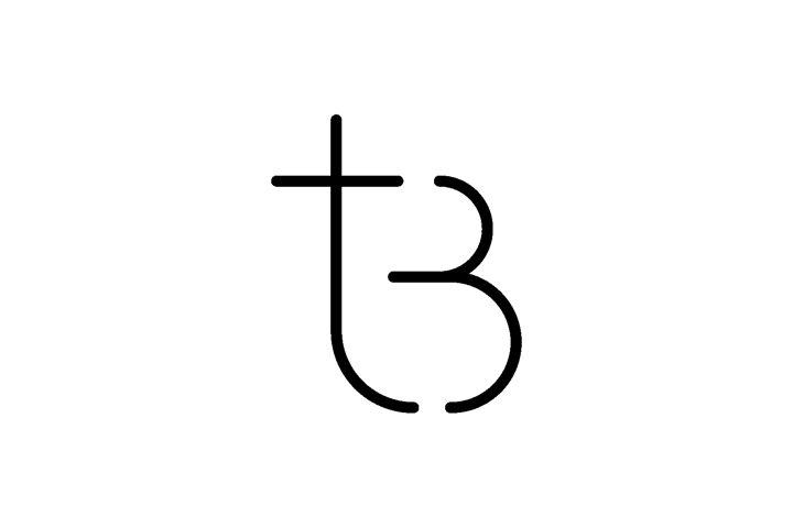 Letter TB BT Logo Design Simple Vector Elegant