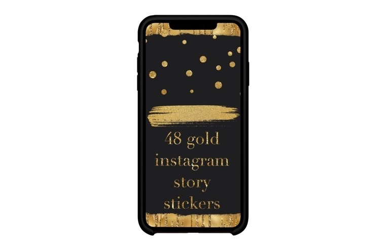 Instagram gold story stickers