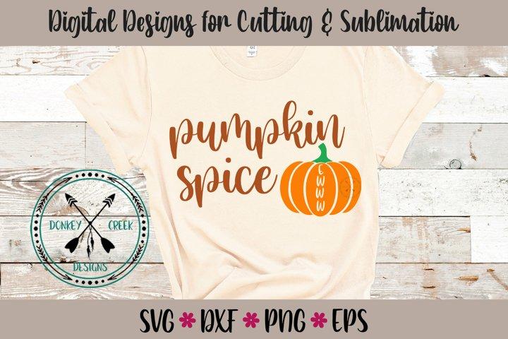 Ewww Pumpkin Spice SVG