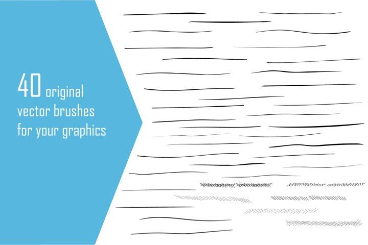 Vector brushes for Adobe Illustrator
