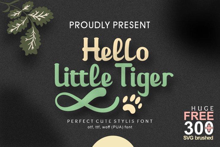 Hello Little Tiger