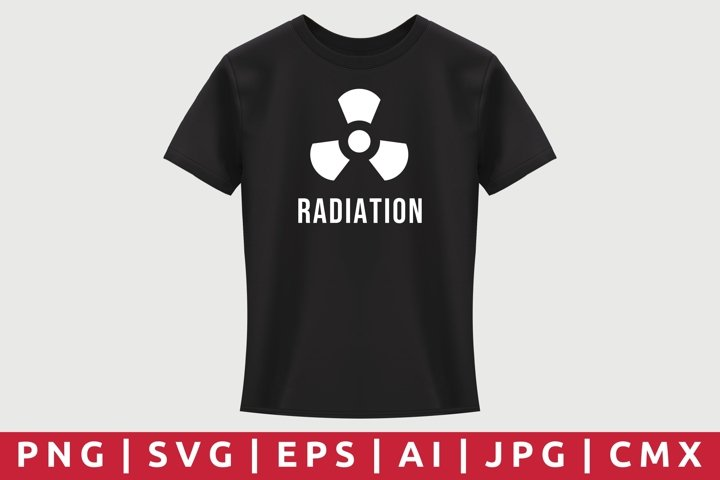 Radiation T-Shirt Design