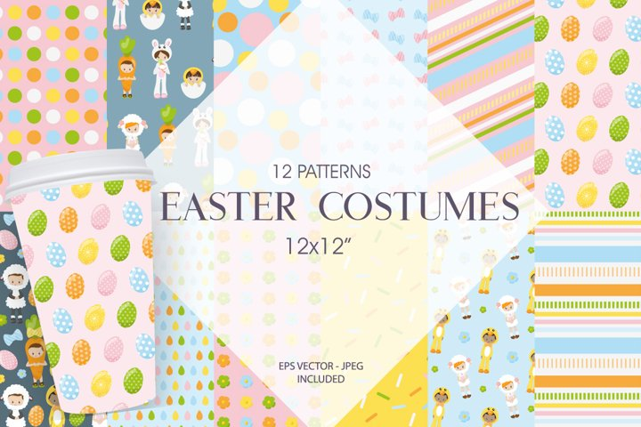Easter Costumes Graphic & Illustration