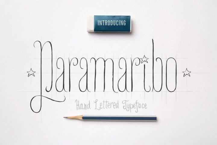 Paramaribo Font family