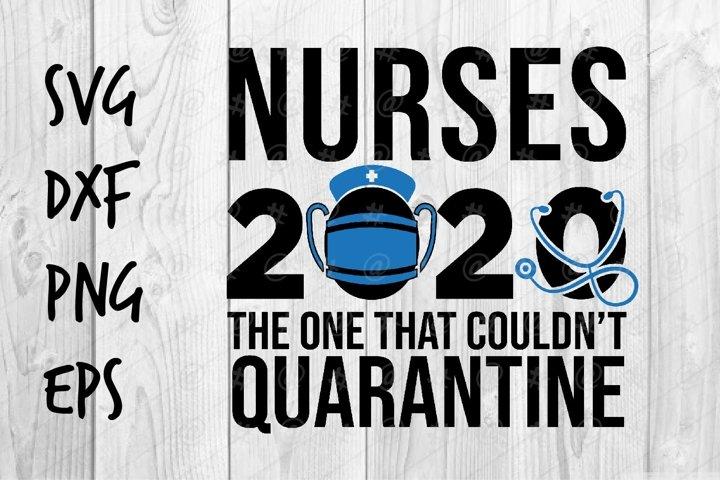 Nurses 2020 SVG