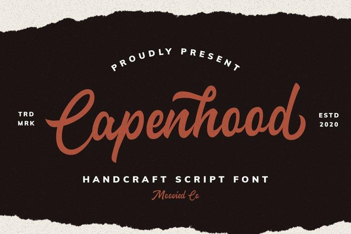 Capenhood Hand Letter