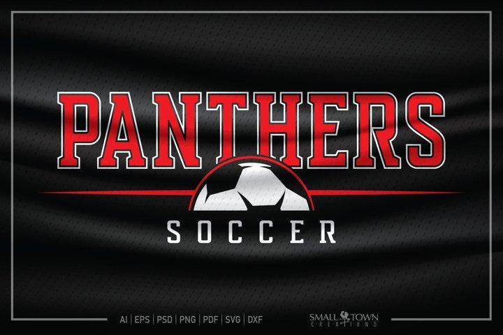 Panther Soccer, Team, Sports, Soccer svg, CUT & DESIGN