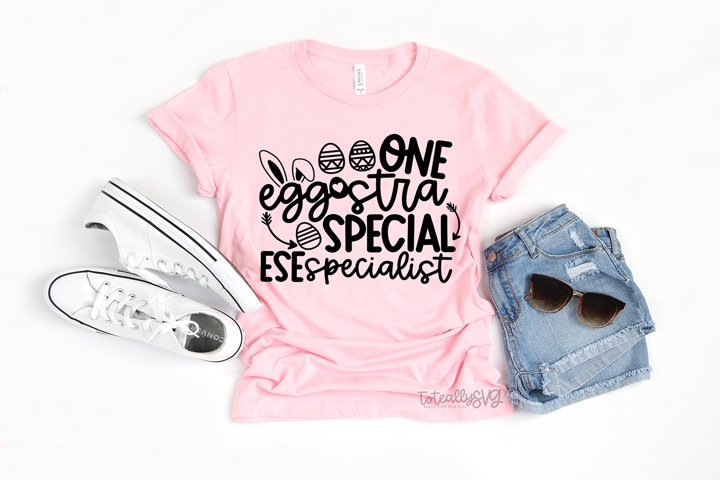 One Eggstra Special ESE Specialist SVG FILE