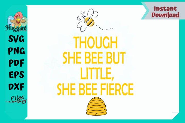 She BEE fierce