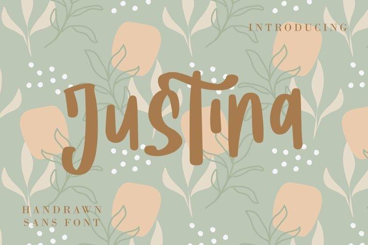 Web Font Justina - Handwritten Fonts
