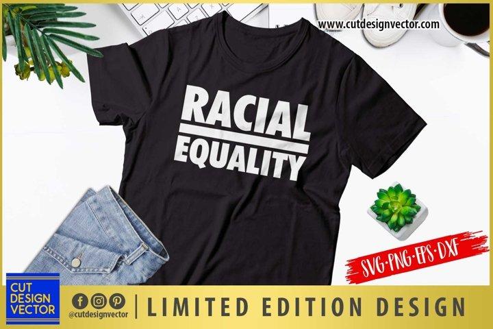 Racial Equality SVG