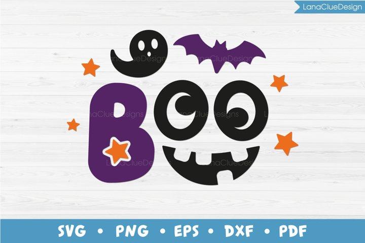 Boo Halloween SVG Cut File - Funny Halloween