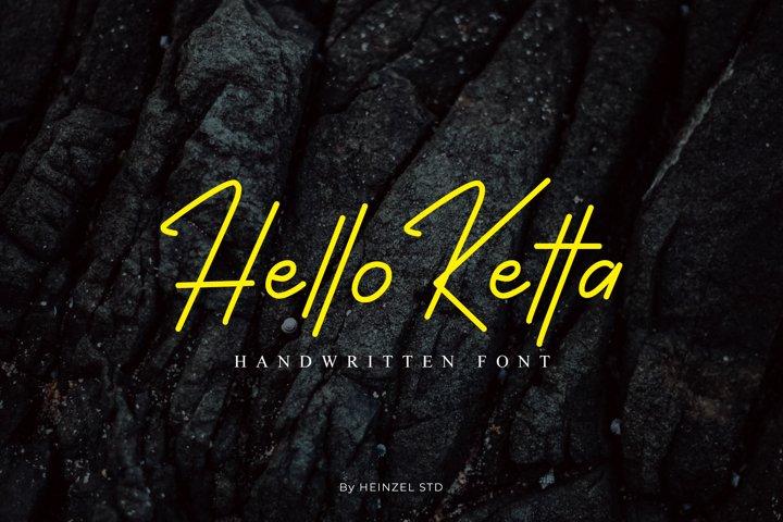 Hello Ketta