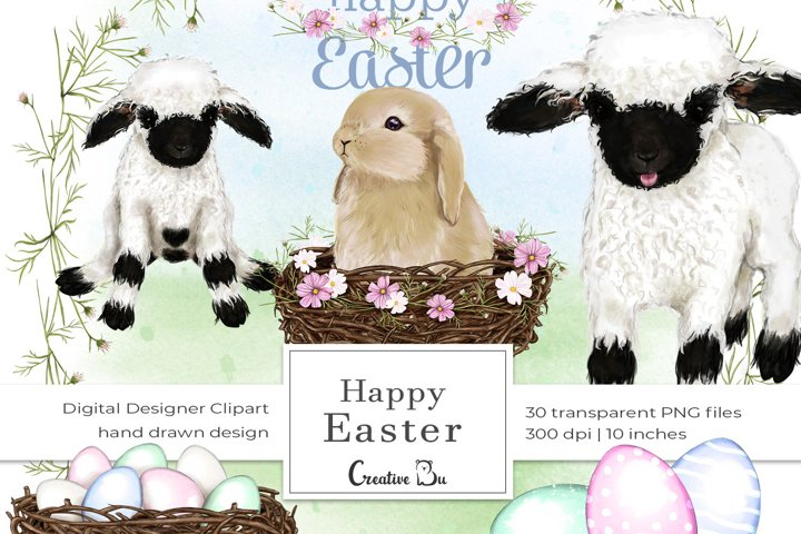 Happy Easter - Clipart