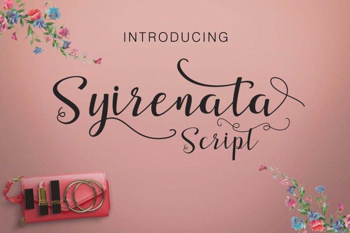 Syirenata Script example