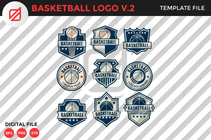Basketball Logo Template V.2