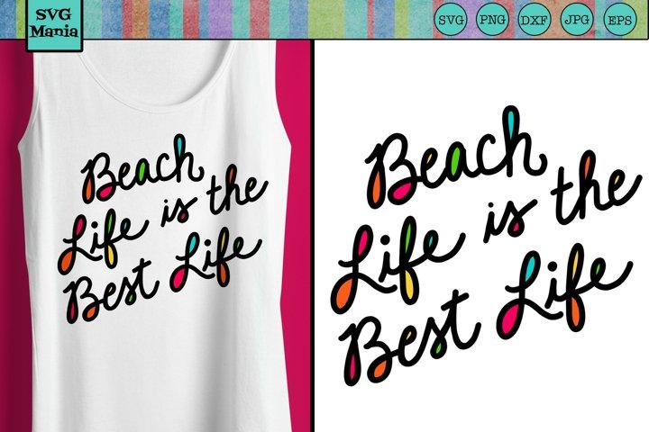 Beach SVG, Beach Shirt Saying SVG, Neon Beach Quote SVG, SVG