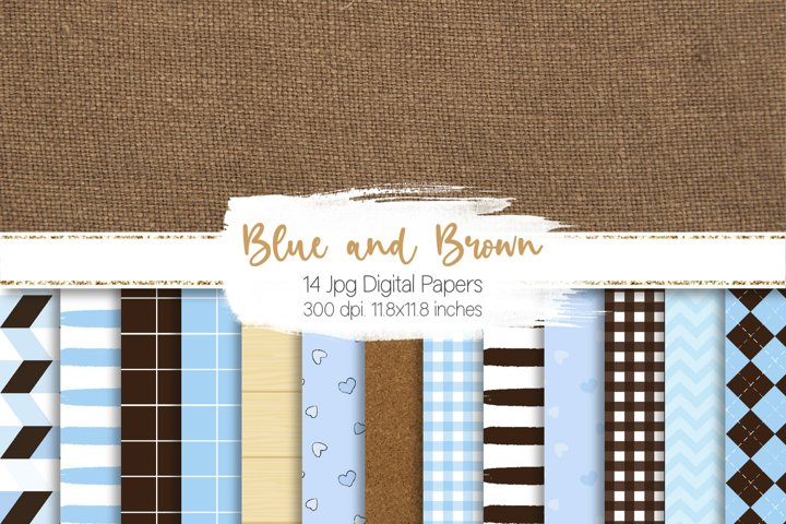 Fathers Day Digital Paper Set Graphics