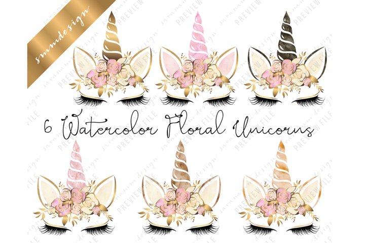 Unicorns Clipart Sublimation Design