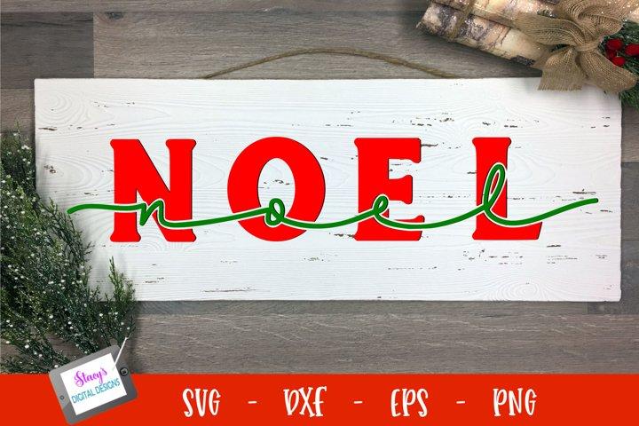 Christmas SVG - Noel SVG - Knockout