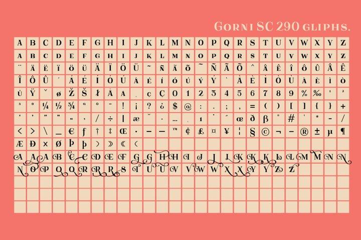 Gorni Typeface - Free Font of The Week Design5