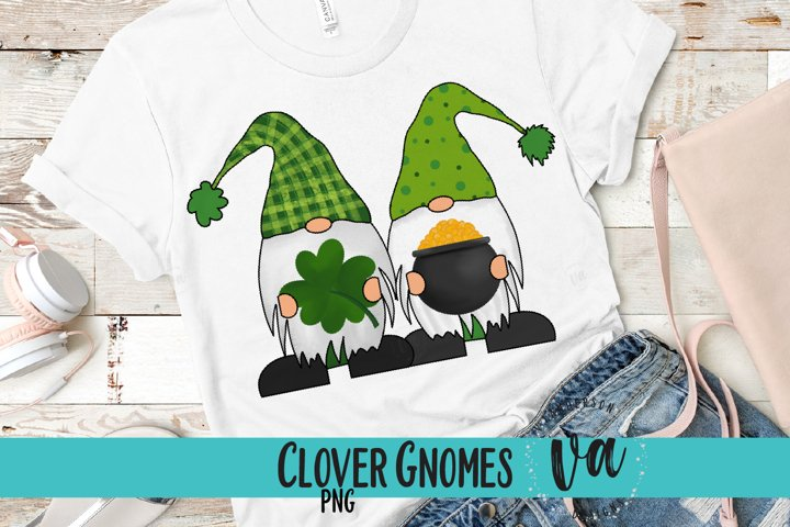 Clover Gnomes Sublimation PNG