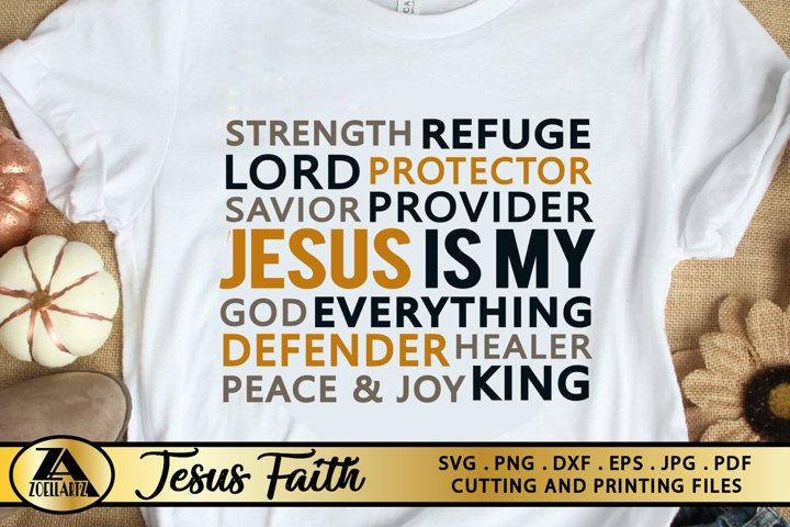 Jesus SVG PNG EPS DXF Christian SVG Bible Verse SVG Cut file