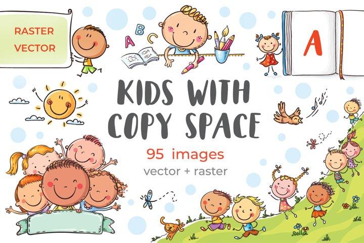 Bundle - Kids with copy space