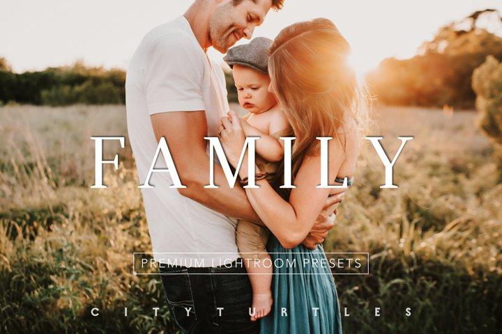 Natural Outdoor FAMILY Portrait Lightroom Presets
