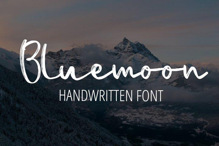 Bluemoon - Handwritten Font
