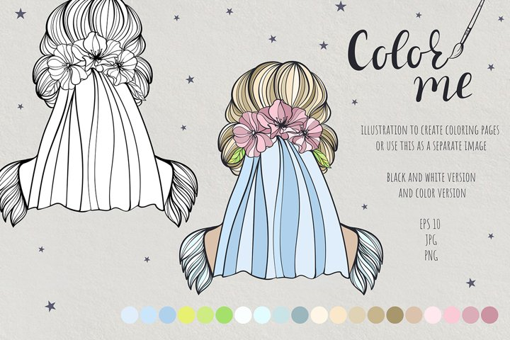 Color me. Womens hairstyle #7