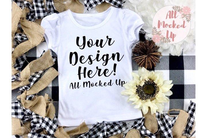 ARB Blanks Girls Sublimation Shirt Fall Mock Up 7/19