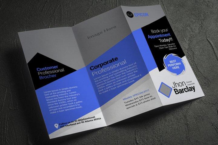 Customizable Trifold Brochure Template