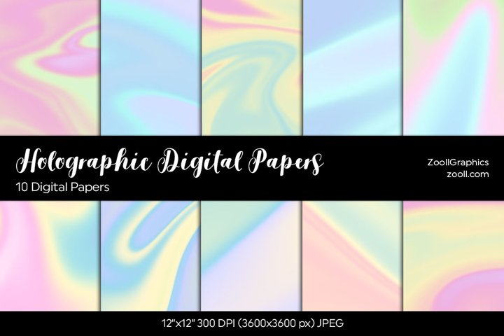 Holographic Digital Papers