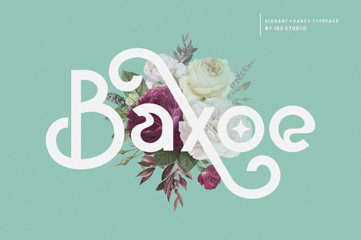 Baxoe | Elegant and Fancy Typeface
