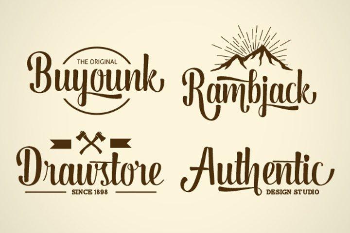 Dorayaki Script - Free Font of The Week Design3
