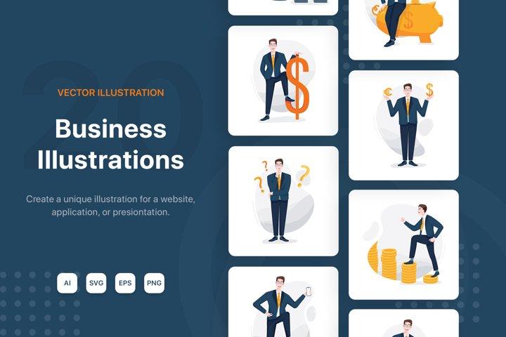 Business & Finance Illustrations