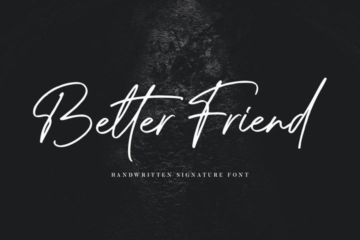 Better Friend Font