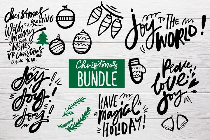 Christmas SVG| Christmas bundle SVG cut file
