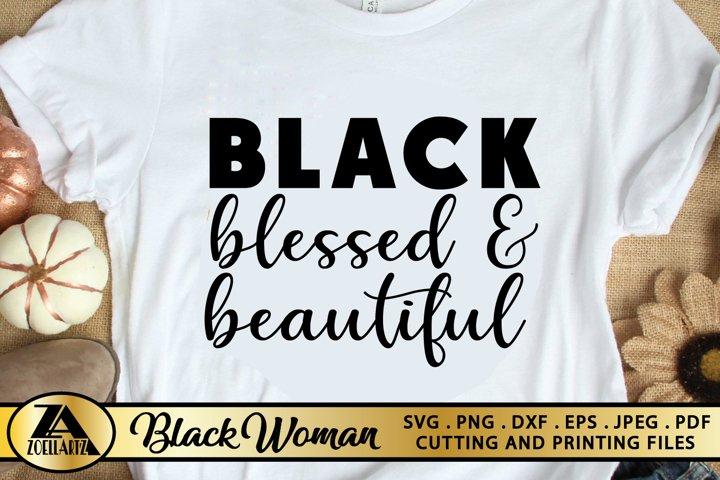Black Women SVG PNG EPS DXF Black Girl SVG Afro Queen SVG