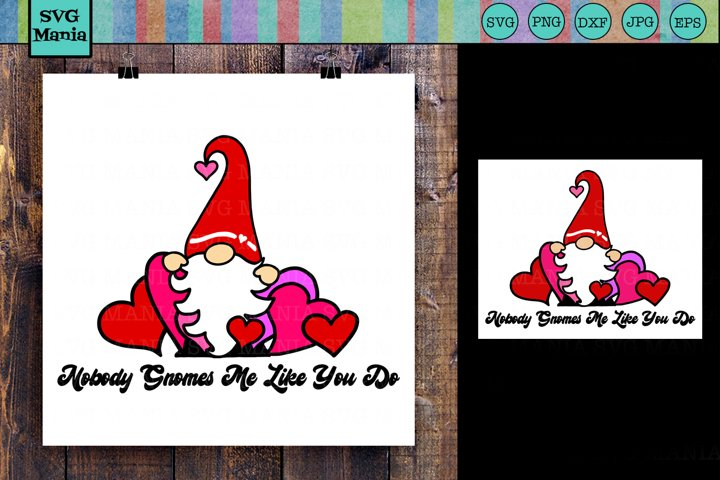 SVG|Gnome|Valentines Day|Cute Valentine Gnome SVG Cut File