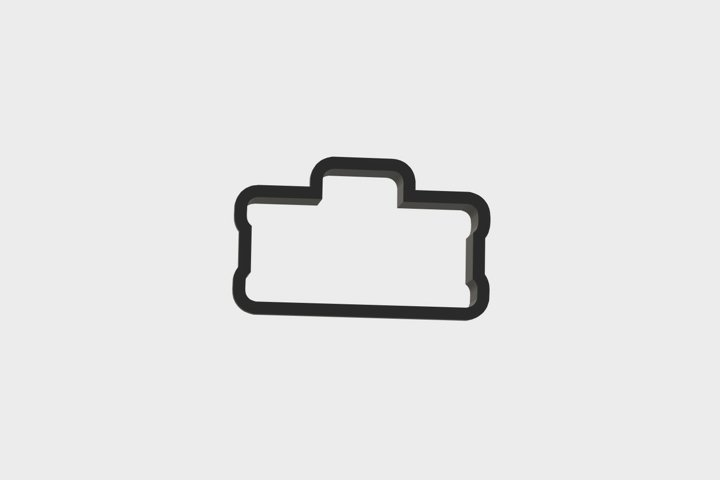 Tool Set ToolBox Cookie Cutter 3d .STL File   3inch